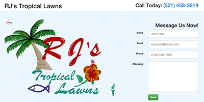 RJ's Tropical Lawns