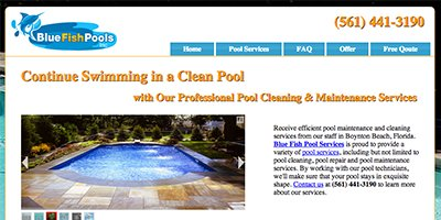 Blue Fish Pool Services